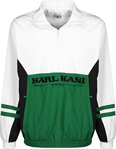 Karl Kani Retro Windbreaker grn/wht/blk