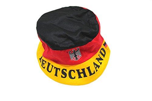 Unbekannt Deutschland Fanhut mit Wappen/Schriftzug
