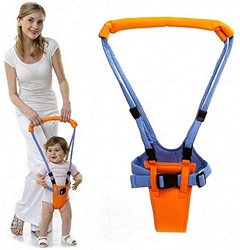 Cintura bambino neonato, assistente per la sicurezza dei bambini, attrezzo per neonati, assistente per bambini che cammina, cintura ausiliaria per l\'apprendimento, sicura e non tossica(blu)