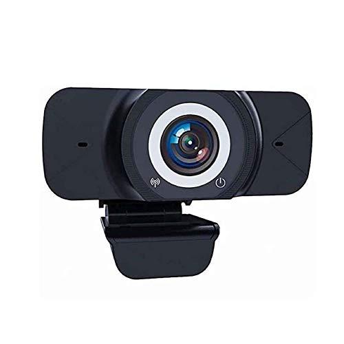 Elitte Pro 1080p Full HD Webcam, Streamcam Webcam mit mit Mikrofon, USB Kamera, Kompatibel mit Windows XP/Visa / 7/8 / 10 und Mac