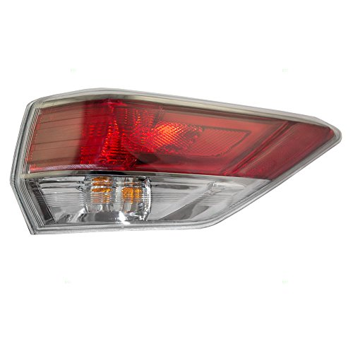 Passengers Taillight Tail Lamp Quarter Panel Mounted Lens Replacement for Toyota SUV 81550-0E100