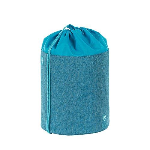 LÄSSIG Kinder Sporttasche Mädchen Junge Schule Kindergarten Sportbeutel Seesack / School Sportsbag, About Friends blau