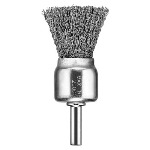 DEWALT DW49055 1-Inch by 1/4-Inch XP .020 Carbon Knot Wire End Brush