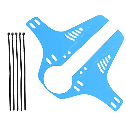 VOBOR Road, Bicicleta de montaña, Rueda Trasera, Guardabarros, Guardabarros para Bicicleta, Accesorio(Azul)