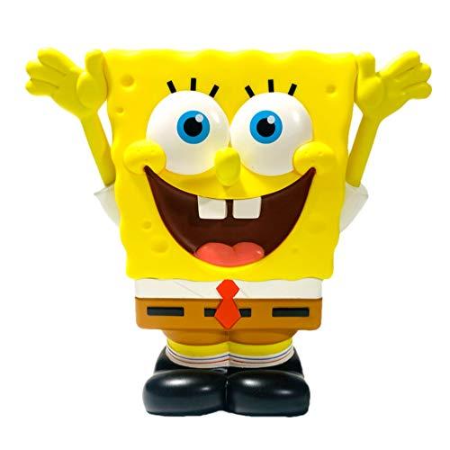 SpongeBob スポンジボブ フィギュア コインバンク 貯金箱 ニコロデオン ボブ グッズ インテリア コレクション ギフト プレゼント かわいい 玩具 おもちゃ プレゼント ギフト