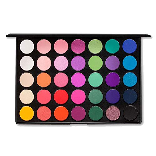u Kara Palette de maquillage professionnelle ES02-35 couleurs vives et mates