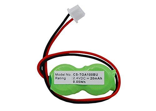 CS CMOS / BackUp Akku,Li-ion 2.4V 20mAh / 0.05Wh passend für [Toshiba] Satellite A10-131, A10-5*1, A10-S1**, A10-S2*3, A10-S403*, A10-S5*3, A10-S703, A10-S811, A10-SP1*7, A15, A15-S127~S129*, A15-S157~S158, A15-S1692, A40-S150, A40-S161*, A40-S200*, A40-S270*, A40-SP15*, A45, A45-S120*, A45-S130*, A45-S150*, A45-S250*, A45-S2701,ersetzt [Toshiba] P000257640,P71035017110,GDM710000041,P71035016113,P000309170,P000268840,P71050004119