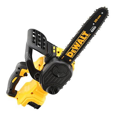 Dewalt DEWDCM565P1 DCM565P1 XR Brushless Chainsaw 18V 1 x 5.0Ah Li-ion Cordless, 18 V, Yellow/Black, 30 cm