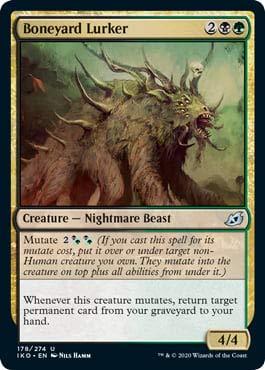 Magic: The Gathering - Boneyard Lurker - Ikoria: Lair of Behemoths