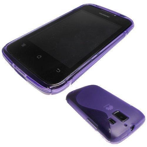 caseroxx TPU-Hülle für Huawei Ascend Y200, Tasche (TPU-Hülle in lila)