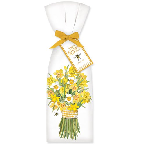 Mary Lake-Thompson Ltd. Daffodil Bunch Towel Set