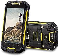 Snopow M5 IP68 Mobile Phone - Waterproof, Walkie Talkie PTT, MTK6735 2GB RAM 16GB, ROM 4.5 inch, NFC OTG 13MP, 3300mAh - Black