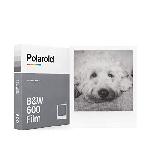 Polaroid インスタントフィルム 6003 B&W Film for 600 モノクロフィルム 8枚入り 【国内正規品】