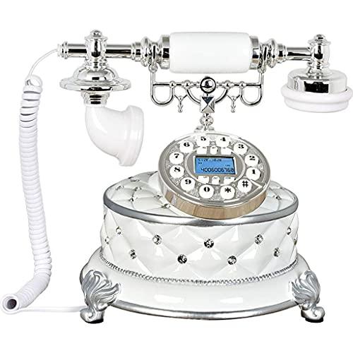 HAOJON Teléfono Retro Teléfono Fijo Oficina Teléfonos Inicio Sala de Estar Decoración