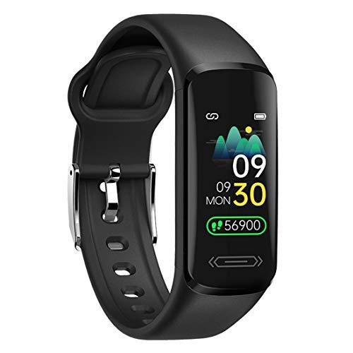 DSMART Fitness Activity Tracker with Body Temperature Heart Rate Sleep Monitor IP68 Waterproof Pedometer Steps Calories Counter Smart Watch for Men Women Teens Kids