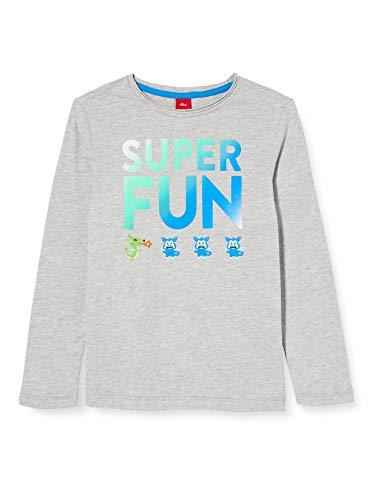 s.Oliver Junior Jungen 404.10.008.12.130.2041827 T-Shirt, 9400, 92/98 /REG