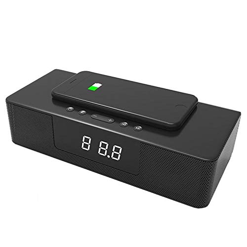 Yi-xirfashion Design Funkaufladung Bluetooth-Lautsprecher Freisprecheinrichtung anrufen Smart Alarm mit fernsteuerer Audio-Soundbar Wireless Portable travel