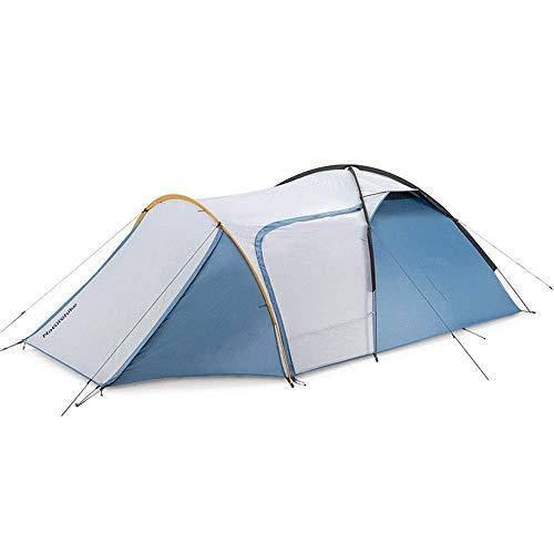 Tente Outdoor Park Tent Family Self-Driving Wild Rainproof Camping Convient pour Le Camping (Couleur: Bleu Taille: 370x220x125cm)