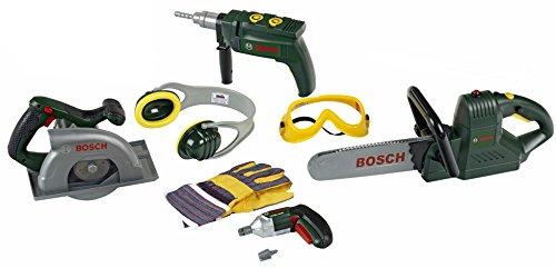 Theo Klein 8512 - Großes Bosch Bauarbeiter Satz Set