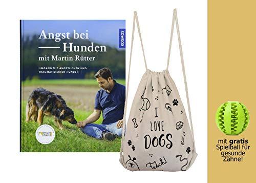 YellowMedia Angst bei Hunden - mit Martin Rütter + stylischer Beutel & gratis Hunde-Spielball für Zahnpflege, Hundeerziehung