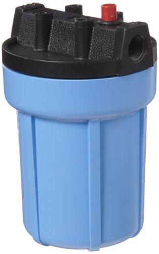 Pentek 158002 3/8 #5 Slim Line Blue Filter Housing with Pressure Relief by Pentek