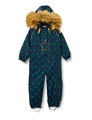 Racoon Baby-Boys Hoopa Star Winter Suit Snowsuit, Starts with Green, 86