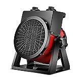 WILLQ Calentador Eléctrico Mini Calefactor Eléctrico Portátil 2000 W Termostato Regulable para Uso en la Oficina Casas Dormitorio O Terraza