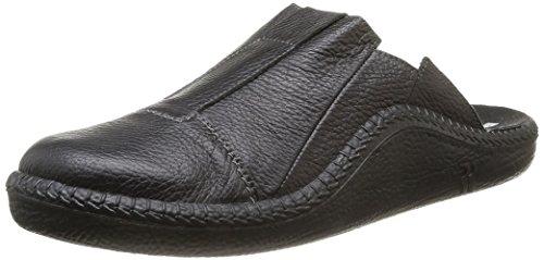 Romika Herren Mokasso 288 Pantoffeln, Schwarz (Schwarz 100), 44 EU