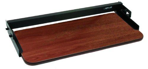 Quik Lok Z/712 BK/CY gelamineerde Formica glijdende computer toetsenbord plank Kit - Cherry