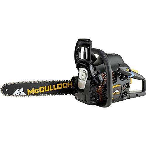 McCulloch CS 42STE benzine-kettingzaag, motorzaag met 1500 W motorvermogen, 41 cm bladlengte, CCS-luchtfiltersysteem (art.nr. 00096-73.208.02)
