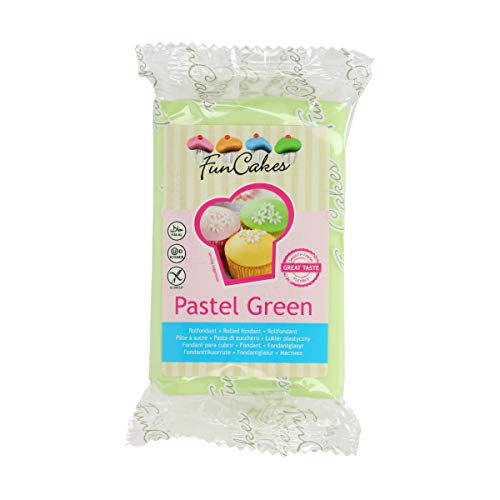 FunCakes Pasta di Zucchero Verde Pastello - 250 gr