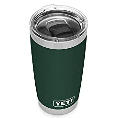 The Rambler 20 oz. is made from durable stainless steel with double-wall vacuum insulation to protect your hot or cold beverage at all costs These Ramblers come standard with the YETI MagSlider Lid, the only drink lid that uses the power of magnets t...