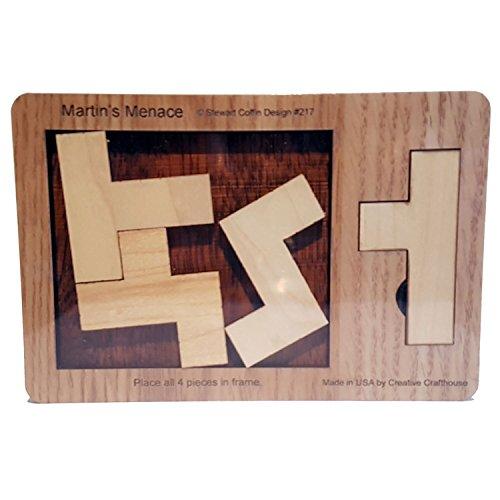 Martin's Menace Puzzle – Stewart Coffin Design #217 – extrem schwer