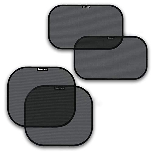 Car Sun Shades for Side and Rear Window (4 Pack)