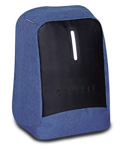 Spirit Tech Mochila Tipo Casual 48 cm, 11 litros, Azul Marino