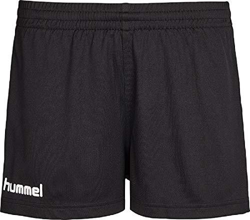 hummel Damen Atmungsaktiv CORE Shorts, Black Pr, S