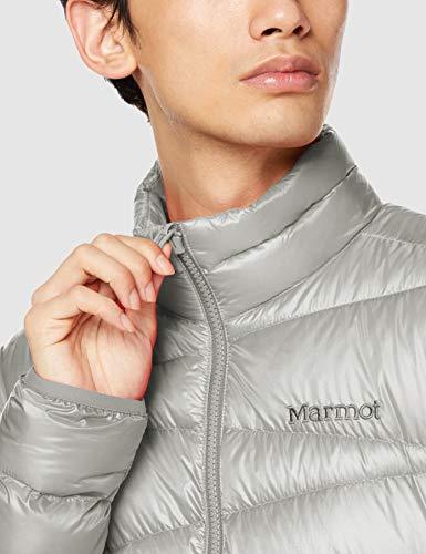 [Marmot(マーモット)]ダウン・中綿1000EaseDownJacket/1000イーズダウンジャケットメンズLGY日本M(日本サイズM相当)