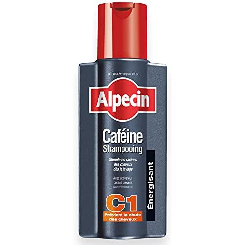 Alpecin Caféine Shampooing C1 1x 250ml   Shampoing anti chute de cheveux homme   Cheveux traitement calvitie   Alpecin caféine shampoing perte de cheveux homme