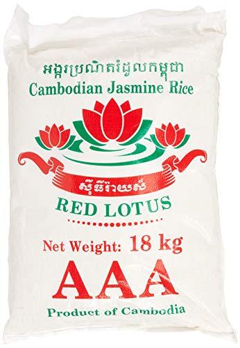 RED LOTUS Duftreis/ Jasminreis Langkorn, AAA Qualität, 1er Pack (1 x 18 kg)