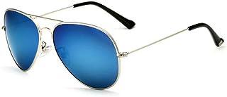 c07ee73d2b AnSuu Los hombres y las mujeres moda brillante Color polarizado gafas de sol  al aire libre