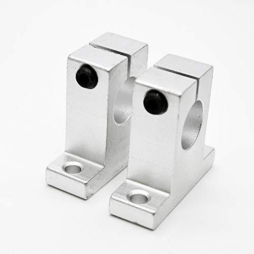 NO LOGO 4pcs 13mnm SK13 lineare Schiene Wellenführung Stützhalterung Bearing CNC Schrittmotor