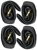 CBK-MS 4x 12' Schlauch 12 1/2 x 2 1/4 = 62-203 - 45° Winkel Autoventil passend für Kinderwagen Fahrrad Roller Dreirad