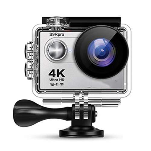 RJJG Movimiento de cámara S9 Pro Ultra HD 4K 30fps 16MP WiFi 2.0' Submarino Kit de Prueba de Agua Cámaras de vídeo del Casco de grabación Sport + Senderismo/Ciclismo/Surf l11.09A