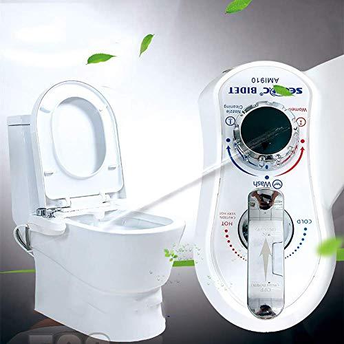 N/Z Attrezzatura Domestica Bidet Attacco Sedile WC Spruzzatore Non Elettrico Bidet Ugello autopulente Temperatura e Pressione dell'Acqua Regolabili Fresco