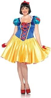 Disney Plus-Size 2Pc. Classic Snow White Costume Dress and Bow Head Piece