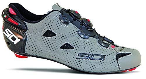 692527VAR - Scarpe da ciclismo SHOT AIR MATT BLACK COLORE GRIGIO NERO TAGLIA 48