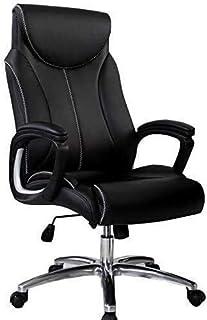 CHHD Silla de oficina, sillones Silla Silla de oficina para el hogar Silla de escritorio Mobiliario de oficina Diseño de doble capa Función de inclinación Mesas y sillas Apoyabrazos fijo Silla para co
