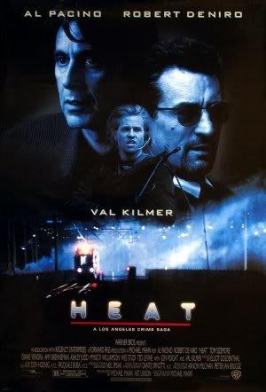 HEAT - AL PACINO ROBERT DE NIRO - US MOVIE FILM WALL POSTER - 30CM X 43CM