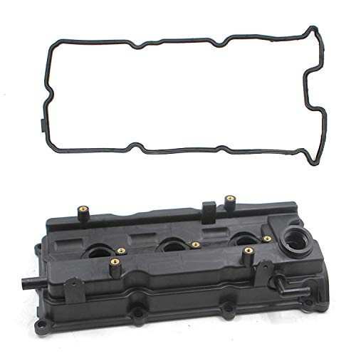 New 13264-8J113 Engine Valve Cover and Gasket Kit for VQ35DE 2002 2003 2004 2005 2006 2007 Nissan Murano Altima Maxima Quest 3.5L V6 for 2004-2009 INFINITI I35 3.5L V6 Left OEM Standard