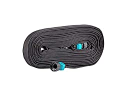 top 10 soaker hoses Rocky Mountain Goods 50ft Flat Soaking Hose – High Performance Two-Layer Structure – 70% Water Saving –…